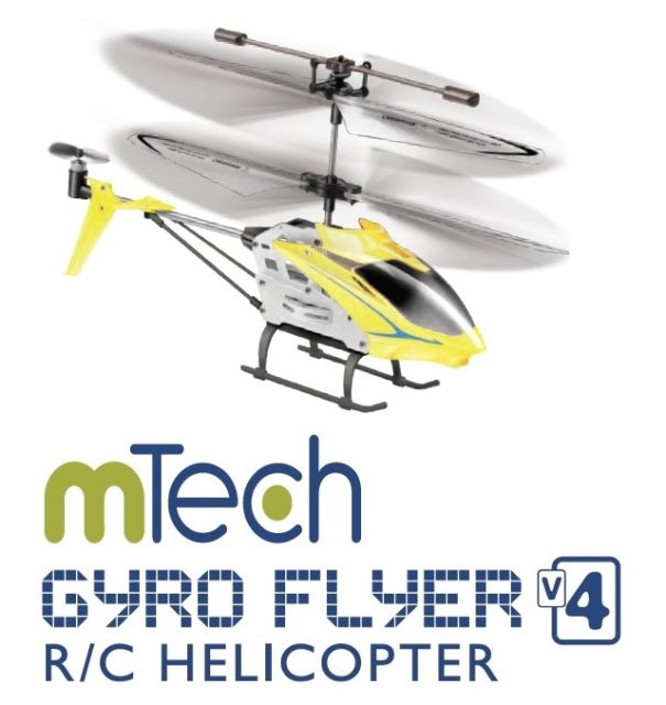 Elicopter RC, galben