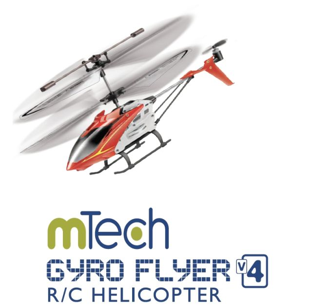 Elicopter RC, rosu