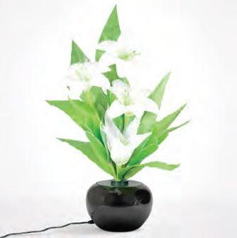 Flori cu microfibra, crin