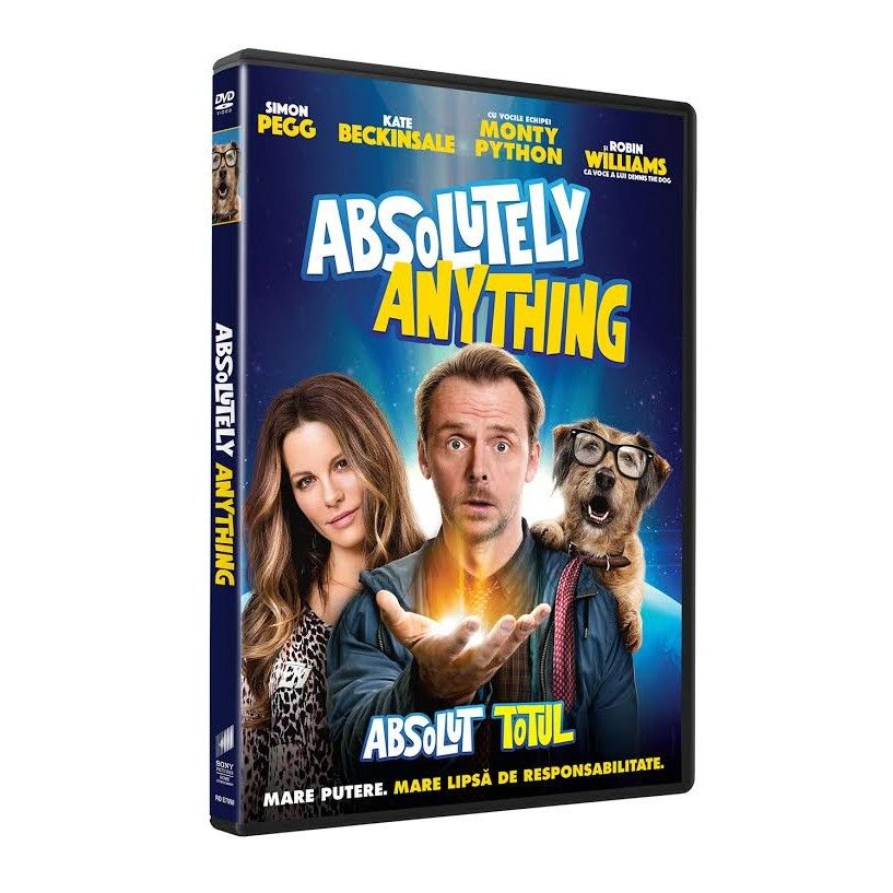 ABSOLUTELY ANYTHING - Absolut totul