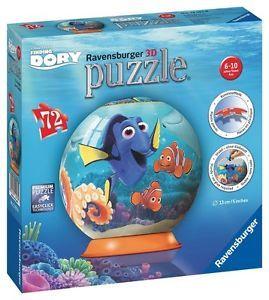 Puzzle 3D In cautarea lui Dory,72pcs