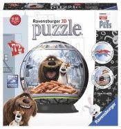 Puzzle 3D Viata secreta a animalelor,72pcs