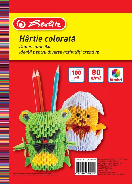 Hartie color...