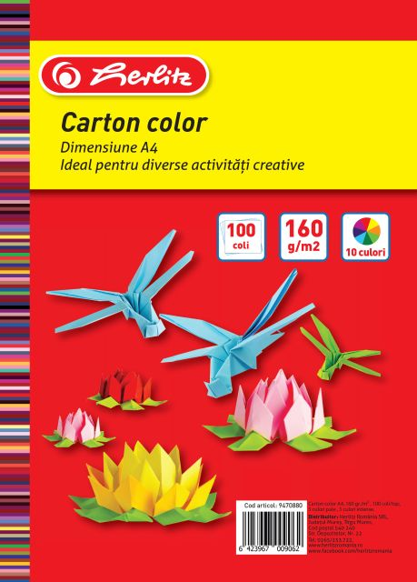 Carton colorat...