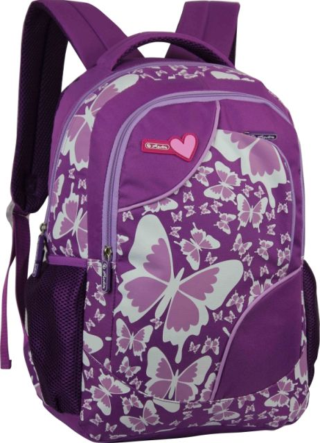 Rucsac Herlitz,1 compartiment,Butterfly Purrple