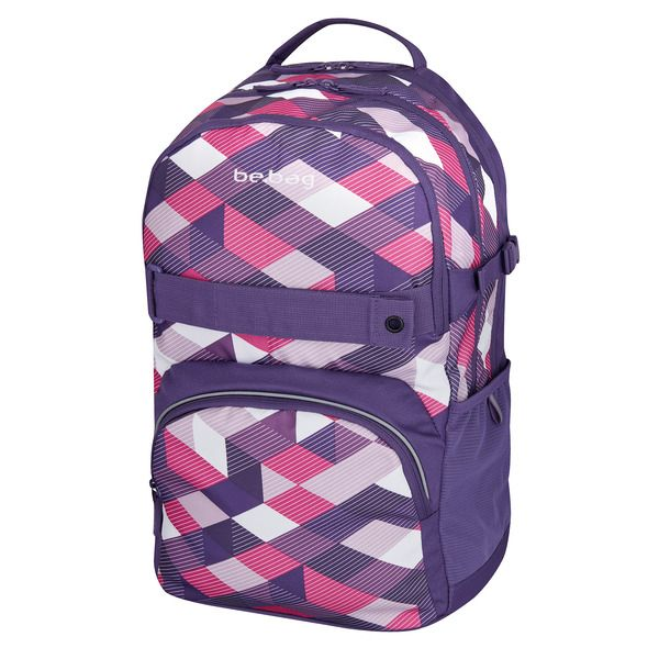 Rucsac Be.Bag Cube,Purple Checked