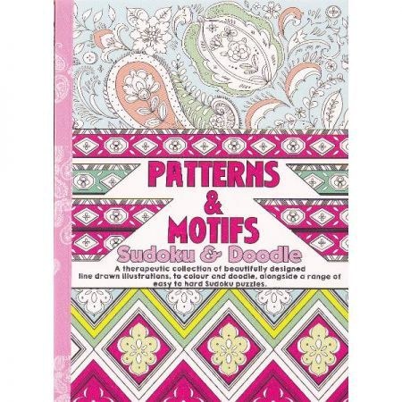 CT 3 Carte de colorat pentru adulti A5 Modele, Motive si Sudoku