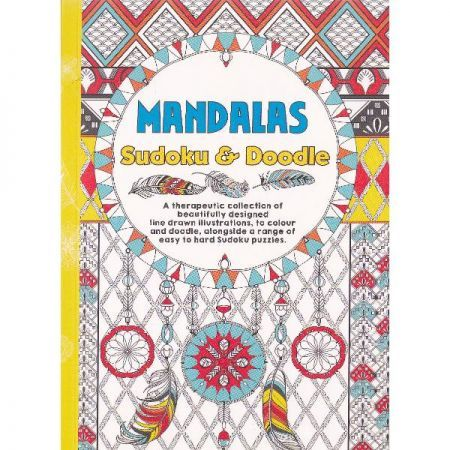 CT 3 Carte de colorat pentru adulti A5 Mandala si Sudoku