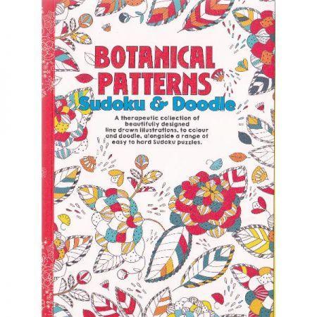 CT 3 Carte de colorat pentru adulti A5 Modele Botanice si Sudoku