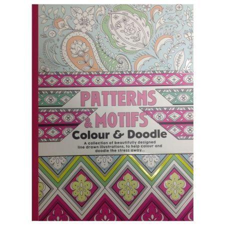 CT 3 Carte de colorat pentru adulti A4 Modele si Motive