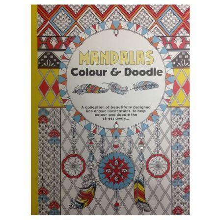 CT 3 Carte de colorat pentru adulti A4 Mandala
