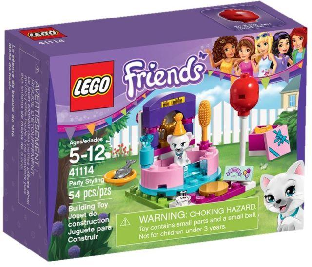 Lego-Friends,Pregatirea pentru petrecere