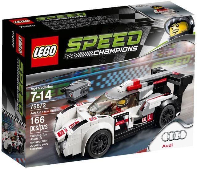 Lego-Speed Champions,Audi R18 e-tron quattro