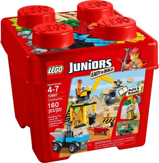 Lego-Juniors,Constructie