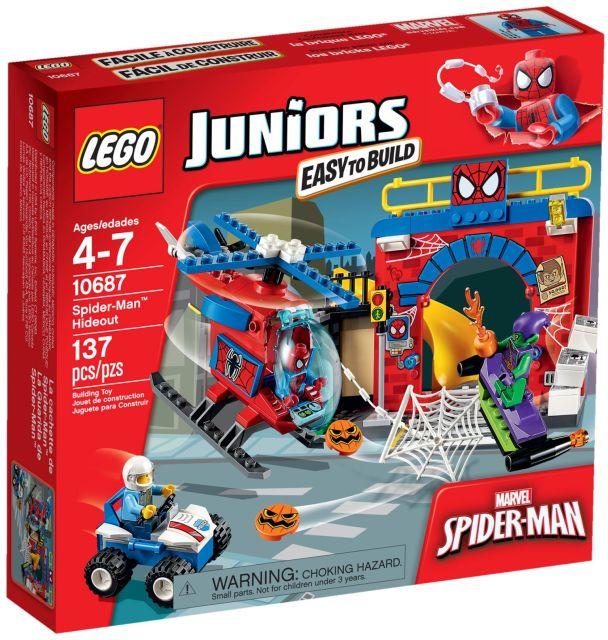 Lego-Juniors,Ascunzisul lui Spider-man