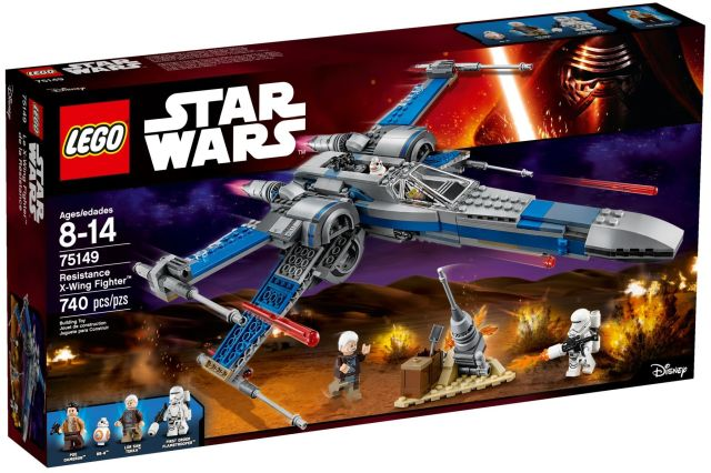 Lego-Star Wars,X-Wing Fighter al Rezisten?ei