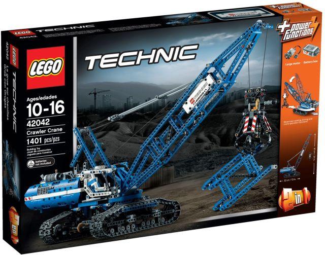 Lego-Technic,Macara pe senile