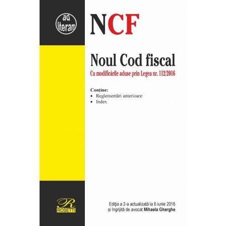 NOUL COD FISCAL - EDITIA A 2-A (2016-06-06)