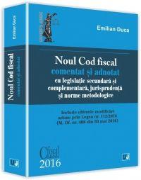 NOUL COD FISCAL COMENTAT SI ADNOTAT - 2016