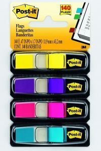 Index Post-it®,4*35file,neon asortate