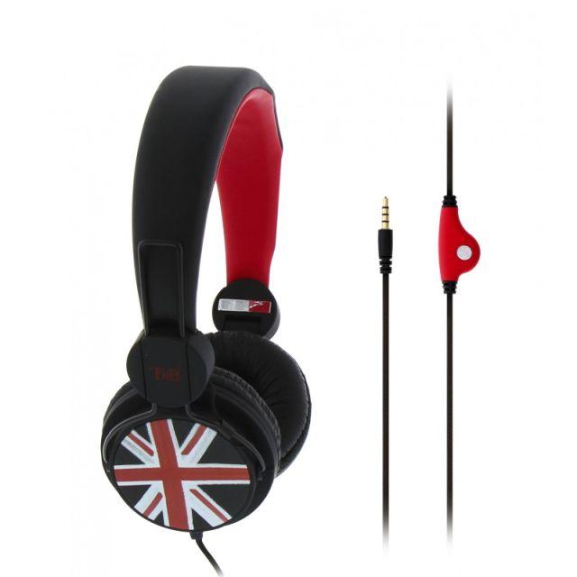 Casti 'Be Color' cu Mic., VIP London, cablu 120cm, Tnb