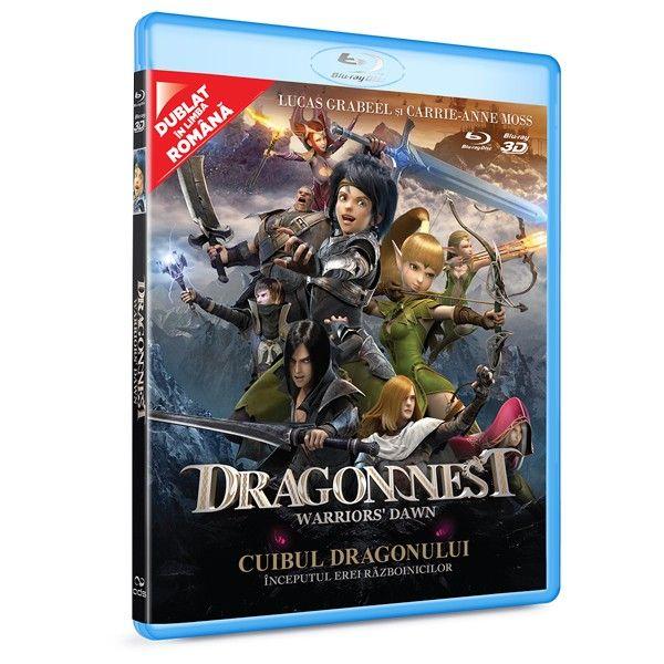 BD: DRAGON NEST: WARRIOR'S DAWN BD 2D+3D - Cuibul Dragonului