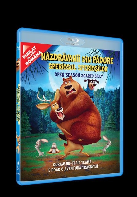 BD: OPEN SEASON: SCARED SILLY - Nazdravanii din padure: Speriosul Speriosilor
