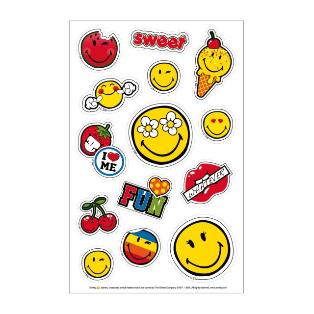 Sticker,3coli,SmileyWorld Girly