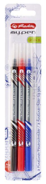 Fineliner,marker My.Pen,3buc/set