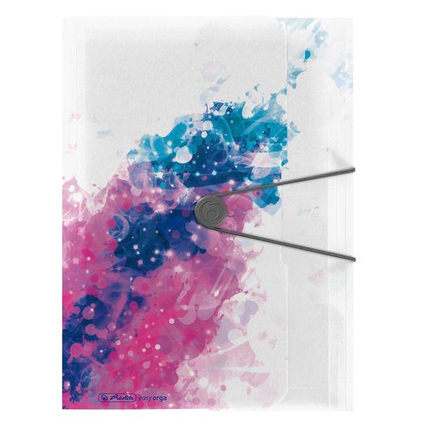 Mapa A4,PP,elastic,Color Splash,roz