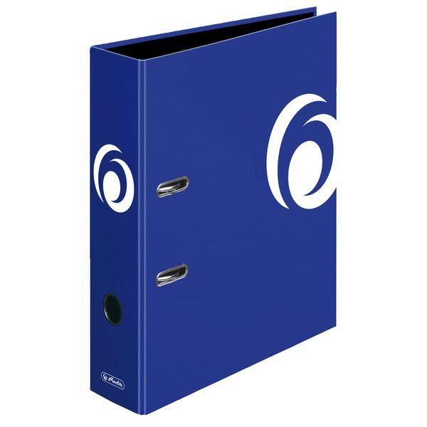 Biblioraft A4,8cm,albastru intens
