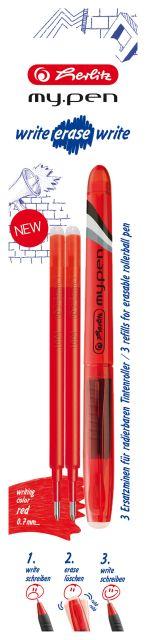 Roller My.Pen WEW+2rezeve,rosu