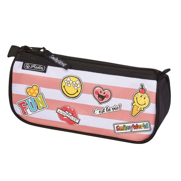 Pouch triunghiular,SmileyWorld Girly