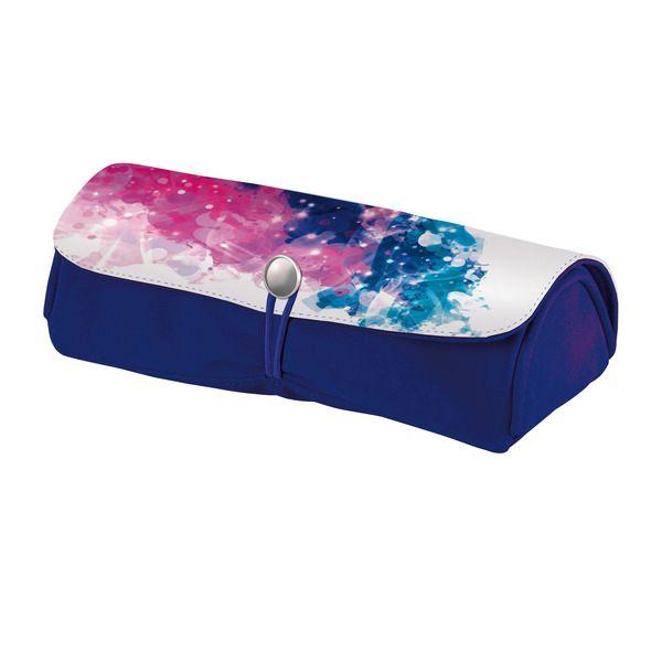 Pouch 21x9.5x6.5cm,Color Splash,roz