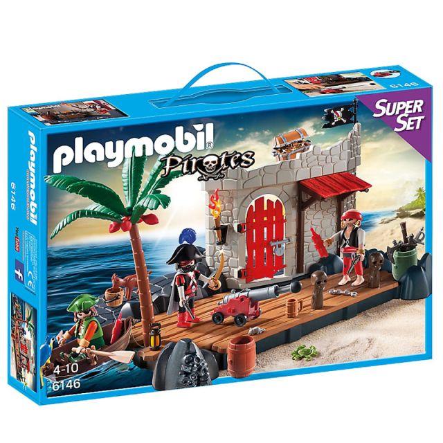 Playmobil-Super set insula piratilor