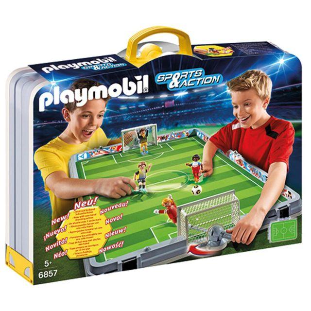 Playmobil-Stadionul mobil de fotbal
