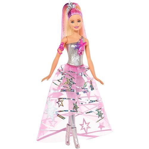 Papusa Barbie,Aventura stelara,cu rochie galactica