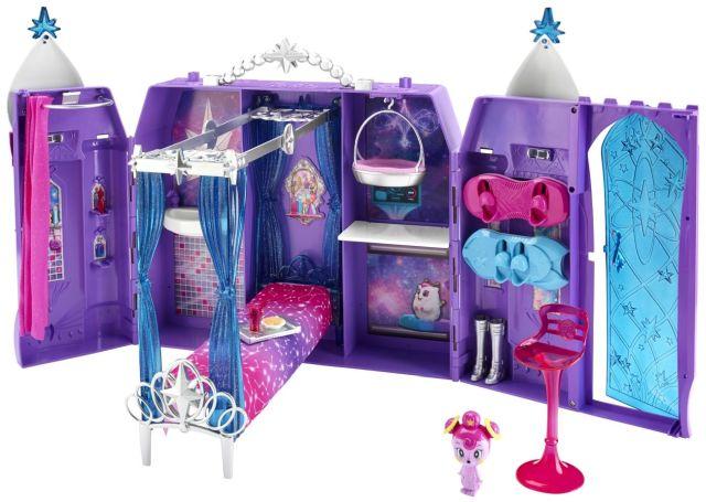 Barbie-Castelul galactic,cu accesorii