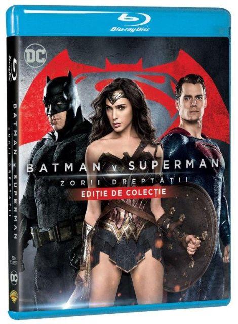 BD: BATMAN V SUPERMAN: DAWN OF JUSTICE - ZORII DREPTATII