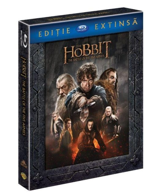 BD: THE HOBBIT 3 THE BATTLE OF THE FIVE ARMIES Extended Edition