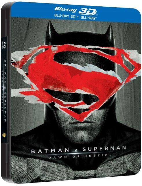 BATMAN V SUPERMAN: DAWN OF JUSTICE Steelbook 3D