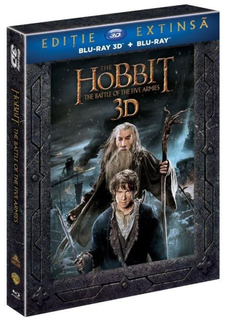 THE HOBBIT 3 THE BATTLE OF THE FIVE ARMIES Extended Edition 3D