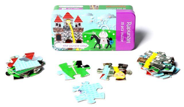 Puzzle Rapunzel,Momki,cutie metal