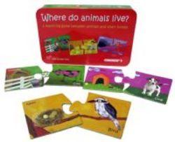 Puzzle Unde locuiesc animalele,Momki