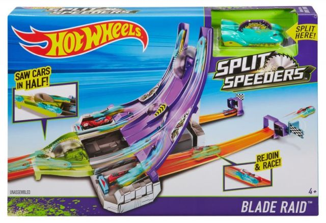 Pista Hot Wheels,masina divizibila,speeders blade