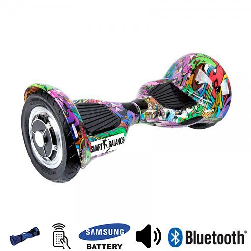 Hoverboard, Smart Balance, 350W x 2, Multicolor, Bluetooth