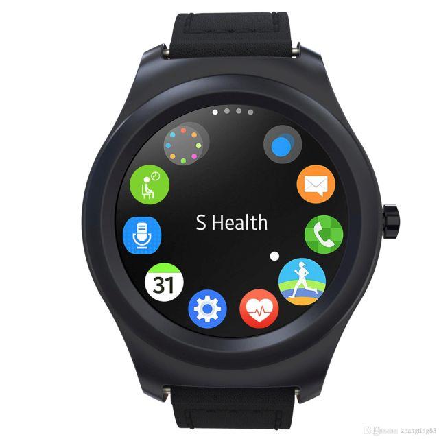 Ceas Smartwatch Poseidon - 360 Ultrasmart (Negru)