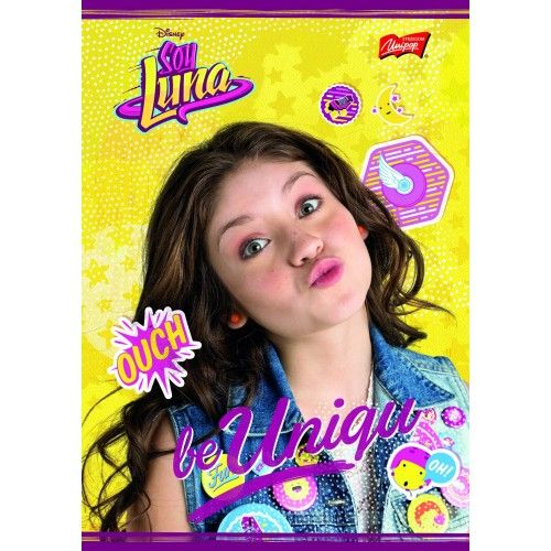 Caiet A5,32file,Soy Luna,dictando