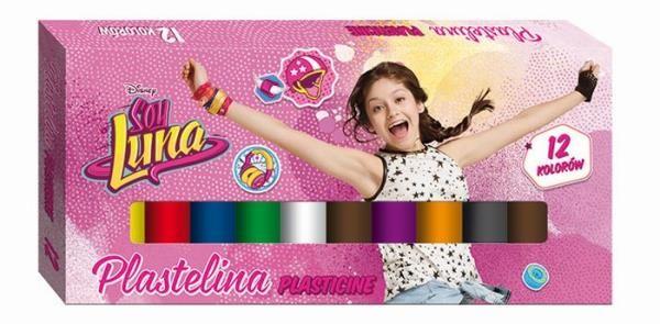 Plastilina,12 culori,Soy Luna