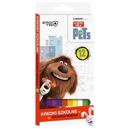Creioane colorate 12buc/set,Pets,fete